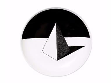 Ceramic dinner plate PYRAMID