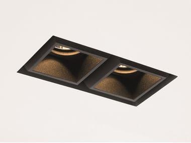LED multiple recessed spotlight QBINI TRIMLESS SQUARE TAPERED