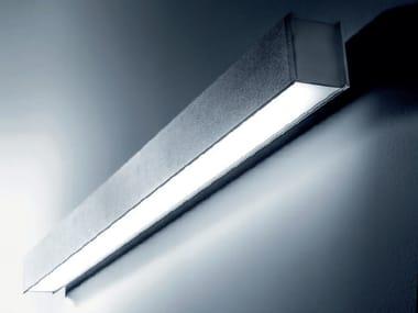 Contemporary style LED aluminium wall lamp QUAD | Wall lamp