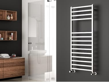 Vertical wall-mounted towel warmer QUADRA S 25