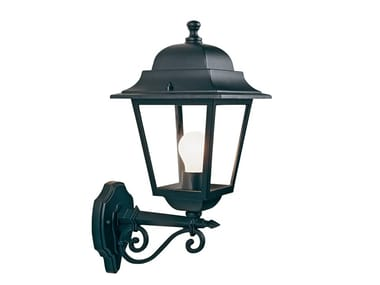Die cast aluminium outdoor wall lamp QUADRATA 319
