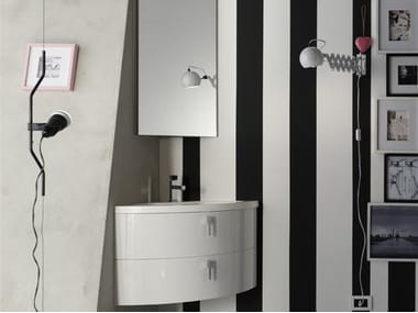 Sistema bagno componibile QUANTUM - COMPOSIZIONE 1