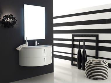Sistema bagno componibile QUANTUM - COMPOSIZIONE 5
