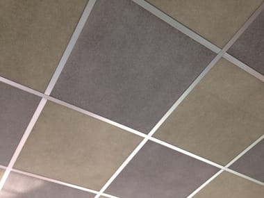 Acoustic ceiling panels QUARTETTO COUNTERTOP