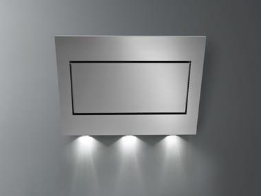 Cappa a carboni attivi in acciaio inox a parete QUASAR TOP