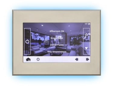 """Building automation system interface Quick DALI Touch display 7"""""""