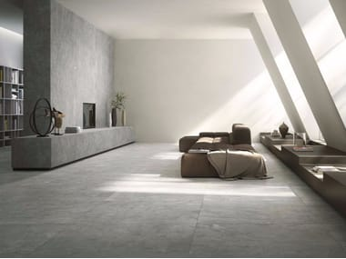 Porcelain stoneware wall/floor tiles with stone effect QUIET NUMB