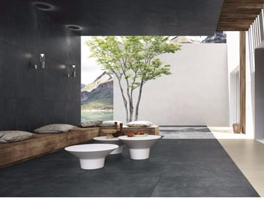 Porcelain stoneware wall/floor tiles with stone effect QUIET ROCK