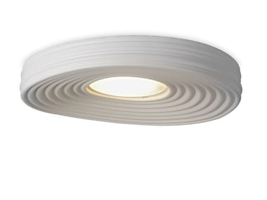 LED plaster ceiling light R.O.M.A.