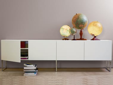 MDF sideboard with doors R5 | Lacquered sideboard
