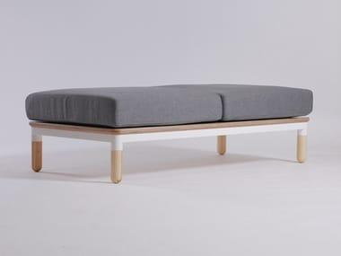 Modular fabric bench R6