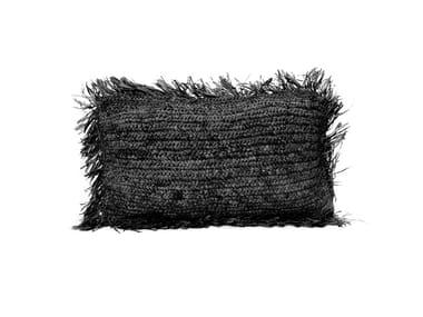 Rectangular raffia cushion RAFFIA | Rectangular cushion