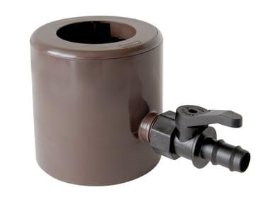 Recuperatore d'acqua pluviale con parafoglie RAPF186M