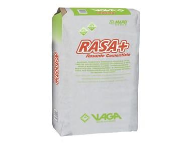 Rasante per intonaco RASA+