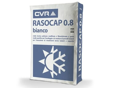 Collante e rasante a grana media per pannelli isolanti RASOCAP 0.8