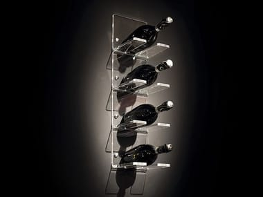 Plexiglass bottle rack RACK X 1