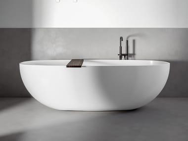 Vasca da bagno centro stanza ovale RAY