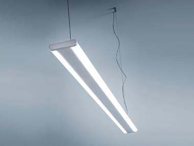Lampada a sospensione a LED in policarbonato RUBLO
