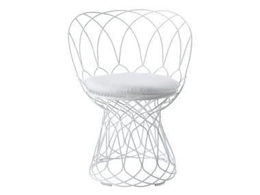 Steel garden chair RE-TROUVÉ | Chair
