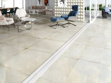 Porcelain flooring with stone effect RECOVER 2CM