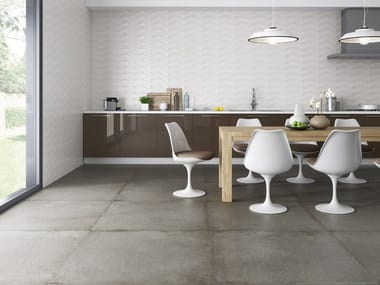 Porcelain wall/floor tiles with stone effect RECOVER