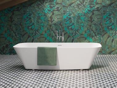 Freestanding rectangular bathtub ALFA ESSENTIAL | Rectangular bathtub