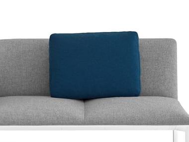 Coussin rectangulaire en tissu pour extérieur OORT OUTDOOR | Coussin rectangulaire