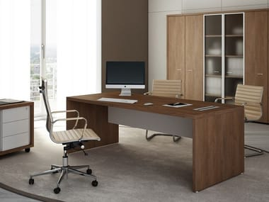 Rectangular executive desk BRERA | Rectangular office desk
