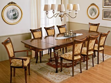 Extending rectangular table REGGENZA | Rectangular table