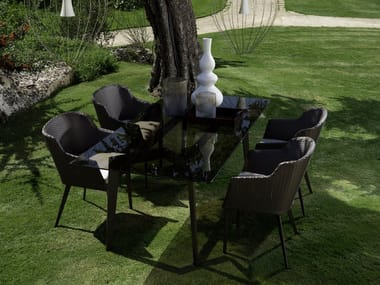 Rectangular garden table MOOD | Rectangular table