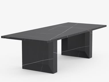 Rectangular porcelain stoneware dining table ORI | Rectangular table