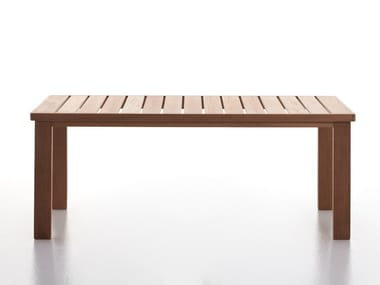 Iroko garden table CAPRI T07