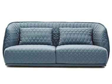 Fabric sofa with removable cover REDONDO | Sofa