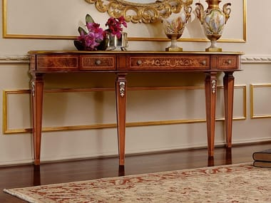 Demilune console table with drawers REGGENZA LUXURY | Console table