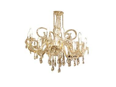 Pendant lamp with crystals REGGENZA LUXURY | Pendant lamp