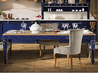 Lacquered rectangular dining table REGINA | Rectangular table