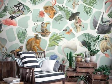 Papel de parede tropical RENDEZ-VOUS
