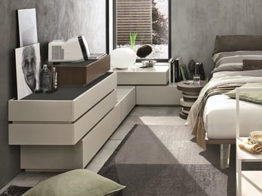 Sectional chest of drawers with integrated handles REPLAY   Sectional chest of drawers