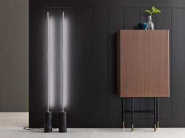 Bar cabinet AERO | Wooden bar cabinet