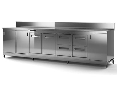 Stainless steel bar counter BACK BAR COUNTER