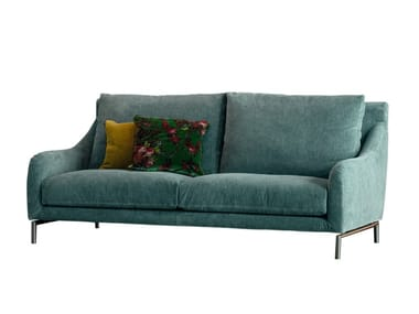 2 seater sofa with removable cover REVIVAL | 2 seater sofa