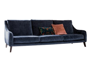3 seater sofa with removable cover REVIVAL | 3 seater sofa