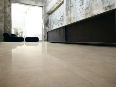 Pavimento/rivestimento in gres porcellanato effetto pietra REVSTONE BEIGE
