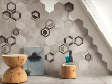 Porcelain stoneware wall tiles REWIND   Wall tiles