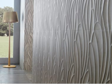 3D Wall Cladding with concrete effect SUEDE TAUPE