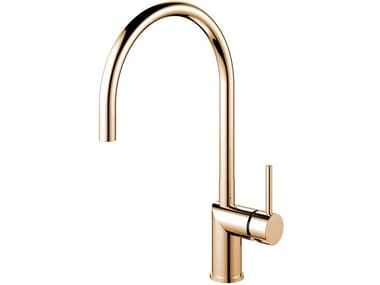 Painted-finish stainless steel kitchen mixer tap RHYTHM RH-170