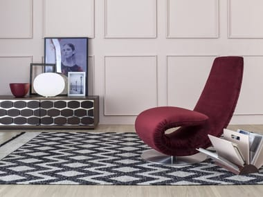 Fabric armchair / Chaise longue RICCIOLO | Fabric armchair