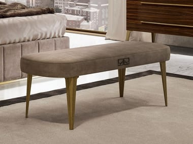 Upholstered fabric bench RICHMOND | Bench