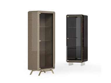 Lacquered wooden display cabinet RICHMOND   Display cabinet