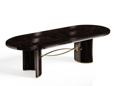 Oval wooden dining table RICHMOND   Dining table